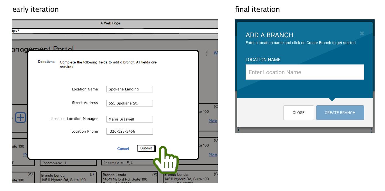 add a branch - b vs final